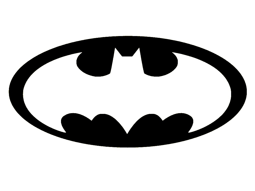 free bat signal coloring pages - photo#17