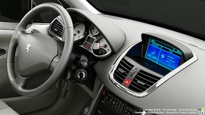 Peugeot 207 em 3D