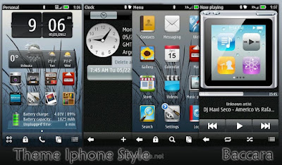 Iphone Style Belle Giao dien cho Nokia Symbian