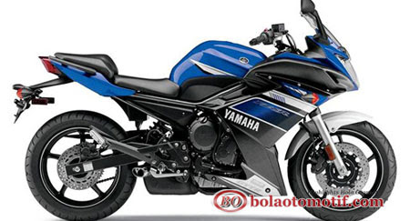 Motor terbaru Yamaha FZ6R