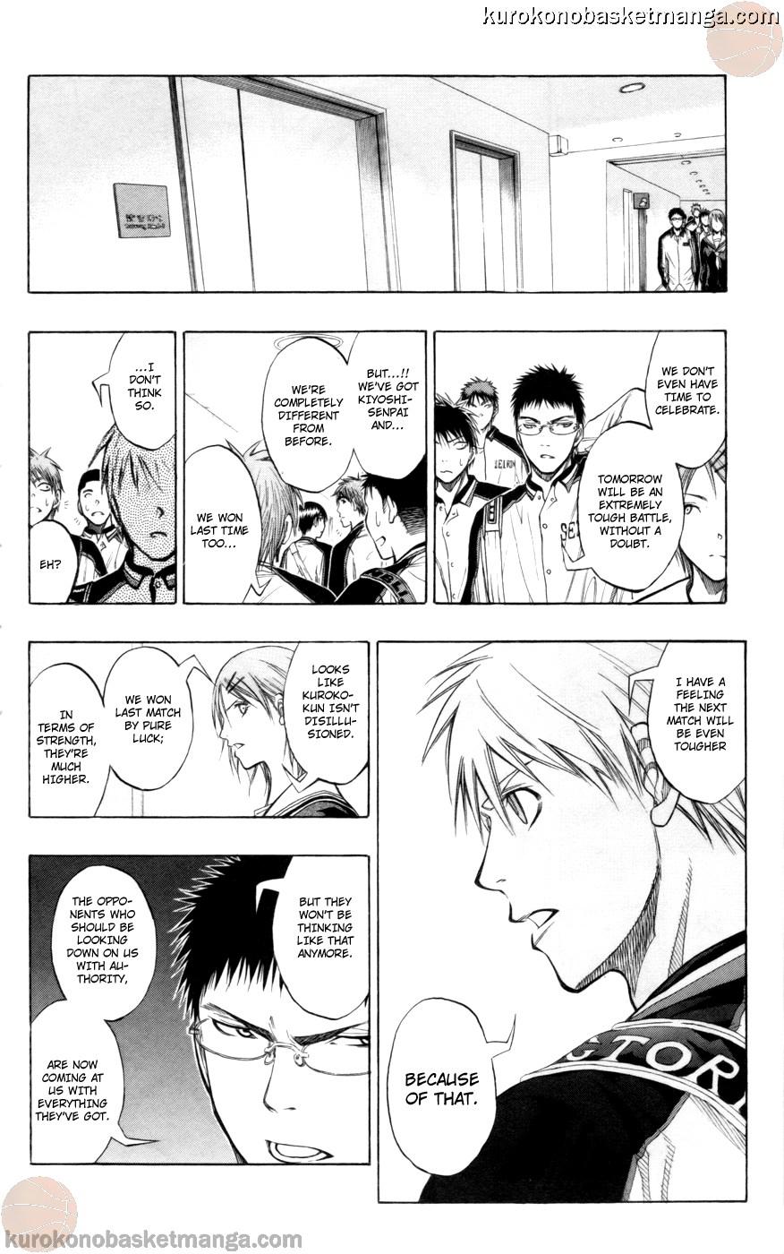 Kuroko no Basket Manga Chapter 85 - Image 06