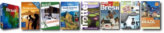 Brazil Expedition, the best tour in Rio is Recommended by these books