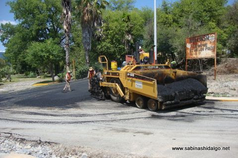 Pavimentación en calle Guerrero