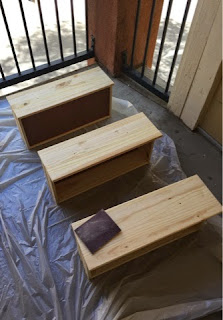 Sanding Rast cabinet