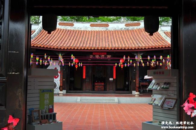 台灣民俗文物館大門入口處