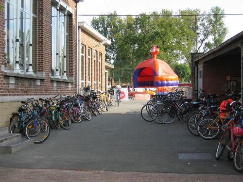 Gezien de opkomst van de fietsers, mogen we van een geslaagde actie spreken.