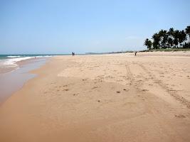 Sand on a beach in Brazil