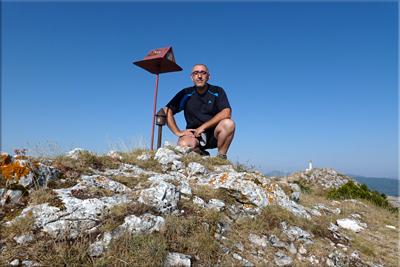 Peñalta mendiaren gailurra 1.243 m. -  2012ko uztailaren 25ean