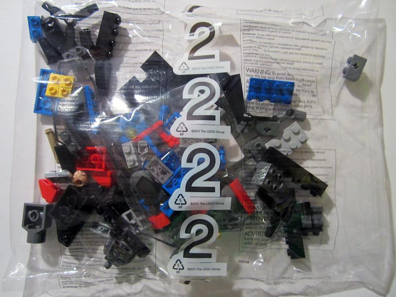 76001 The Bat vs Bane: Tumbler Chase Bag%25202