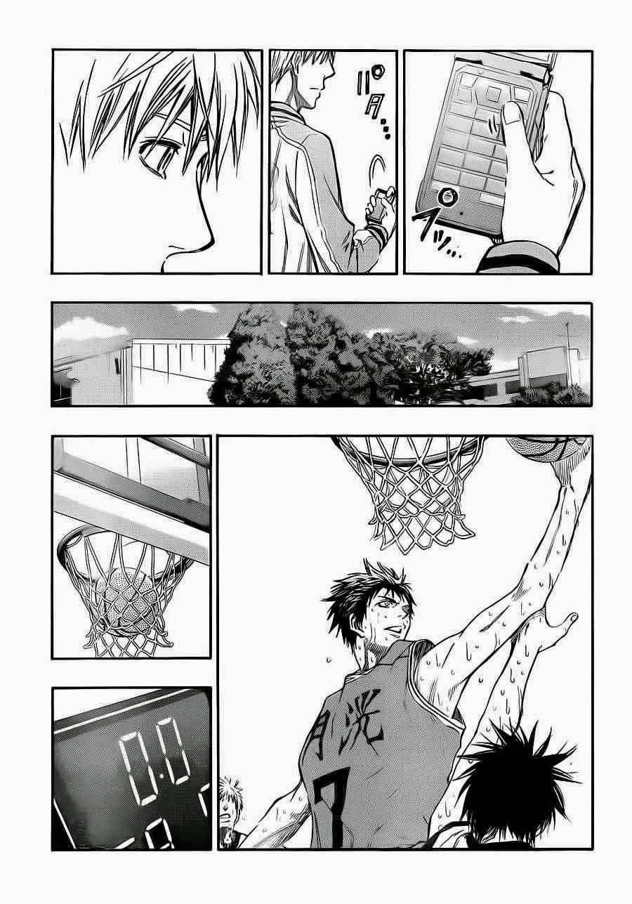 Kuroko no Basket Manga Chapter 224 - Image 09