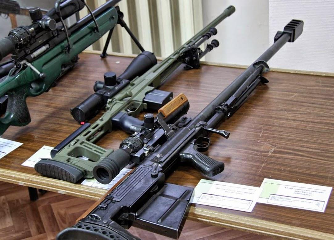 Крупнокалиберные снайперские винтовки