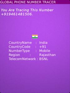 Global Phone Number Tracer v1.0.1