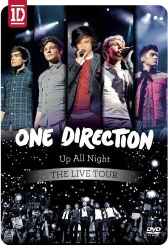 One Direction,Up All Night,Live tour , DVD, 2012, cover, concert, image