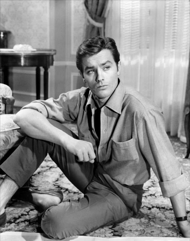 The ultimate Gallic sex god - and avowed favourite here at Dolores Delargo  Towers - Alain Delon is 79 years young today! To celebrate, here's a rare  clip of ...