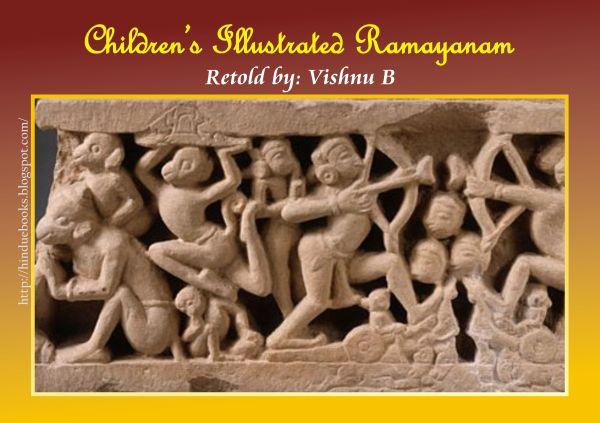 Children's Illustrated Ramayanam - Vishnu B