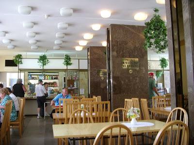 博物館の食堂