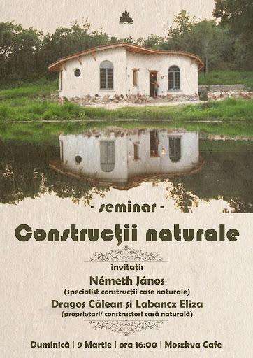 Seminar Construcţii Naturale la Moszkva Cafe #1