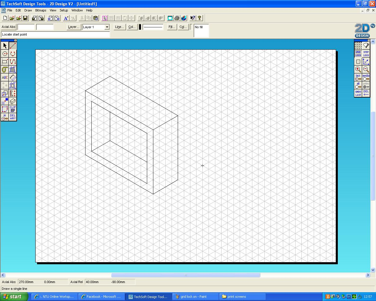 CAD Progression: Using Orthagonal, Isometric and oblique drawing in ...