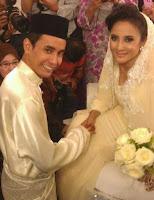 Majlis pernikahan Azza Elite