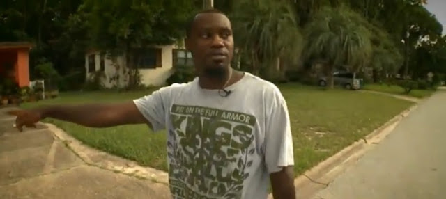 Black American arrested for walking 'on the wrong side of the street'