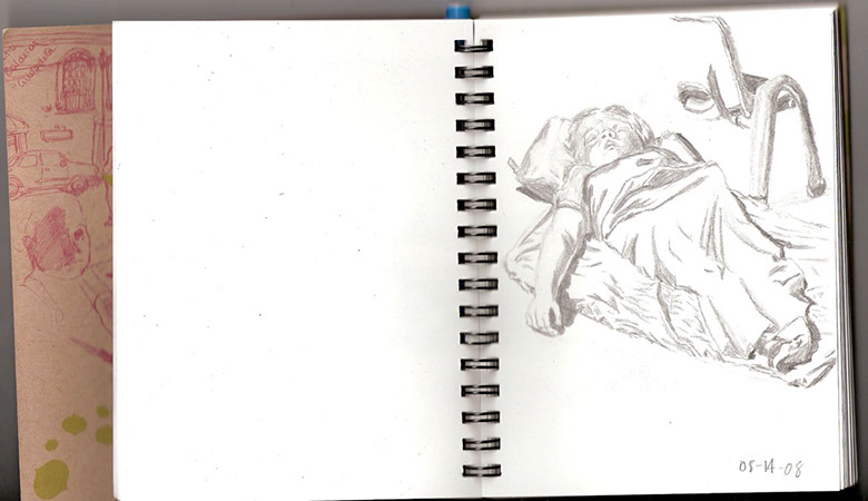 Nap-time Sketch 1