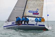 J/111 XCENTRIC RIPPER sailing SPI Ouest France regatta