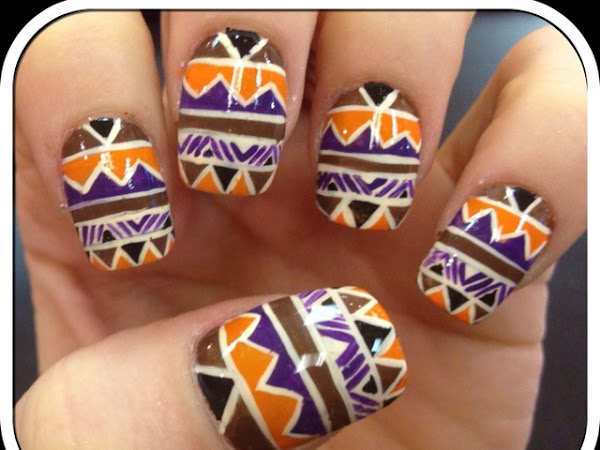 Day 98 - Tribal Print