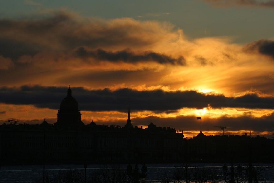 Закат, Санкт-Петербург