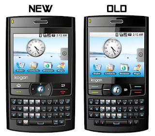 Kogan Agora  second Google Android phone
