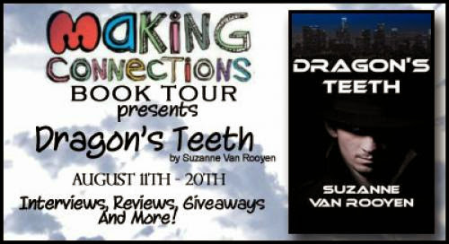 Blog Tour Guest Post Dragon Teeth By Suzanne Van Rooyen