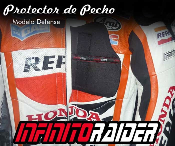 Protector de pecho Infinitoraider Chest Defense