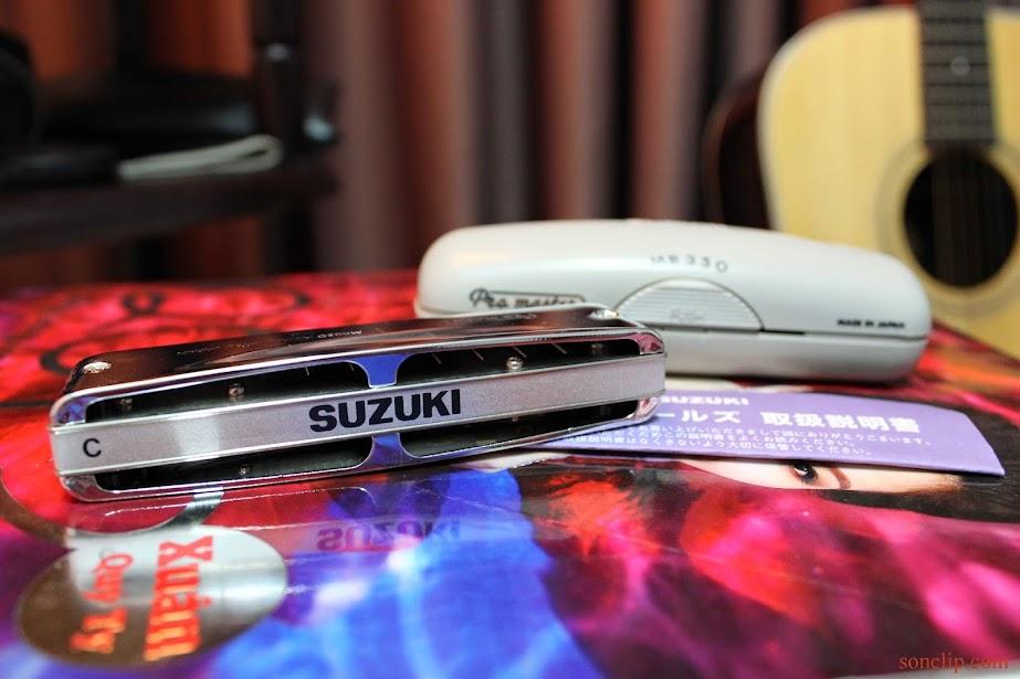 Kèn Harmonica - Suzuki ProMaster MR-350 (key C)