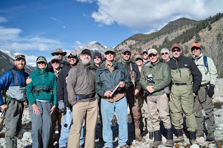 tenkara anglers in Colorado, Rocky Mountain National Park