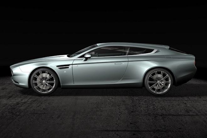 2014 Zagato reveals Aston Martin Virage Shooting Brake