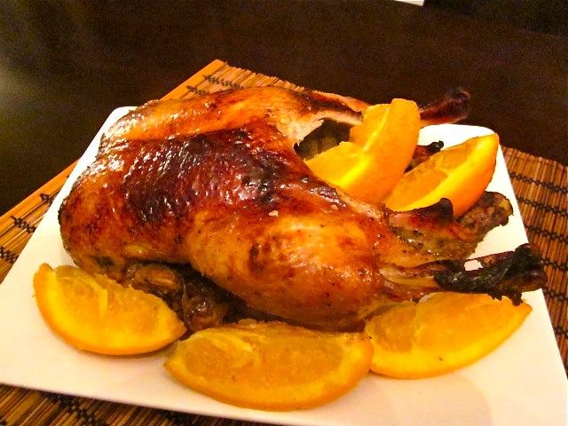 Утка запеченная в духовке с картошкой и яблоками рецепт с фото