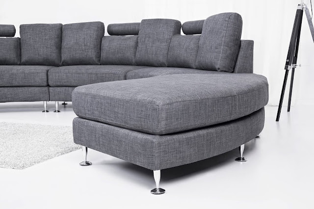 modern fabric sofa rotunde by beliani