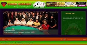 Free Poker Wordpress Theme - pokerwinners