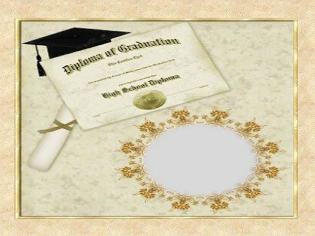 Moldura de diploma