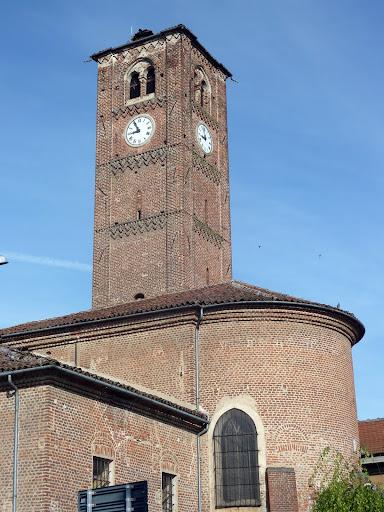 La chiesa di Pancalieri