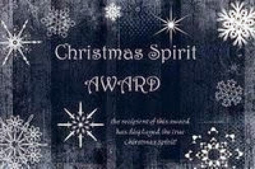 Christmas Spirit Award