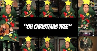David Fonseca Surpreende Fãs Ao Cantar «Oh Christmas Tree» Num Videoclip BRUTAL E Super Engraçado