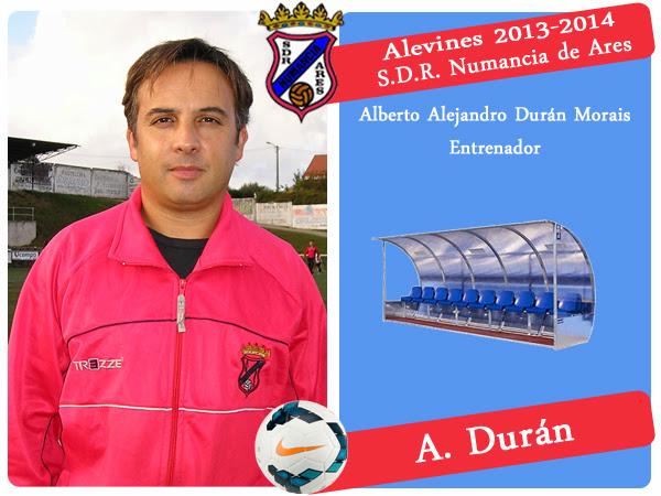 ADR Numancia de Ares. ALBERTO DURAN