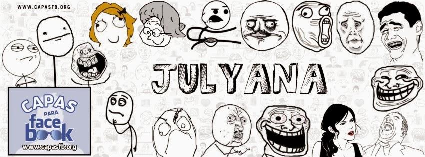 Capas para Facebook Julyana