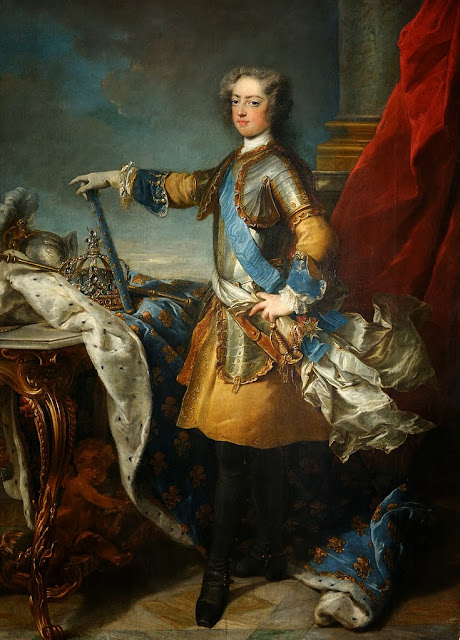 Jean-Baptiste Van Loo - Louis XV, roi de France et de Navarre (1710-1774) - Google Art Project