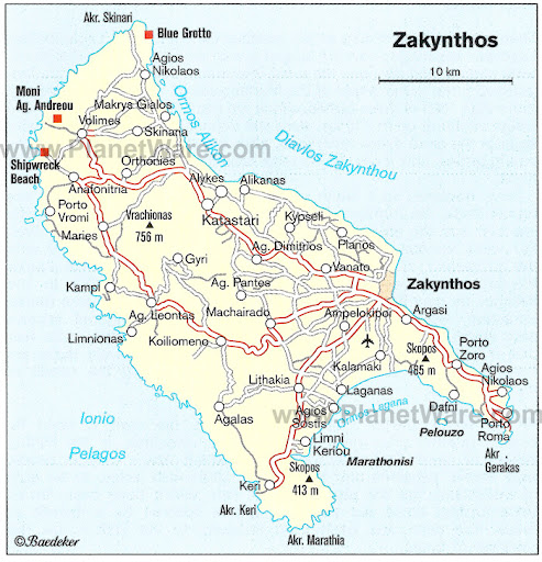 Breath Taking Zakynthos Navagio Beach Postcard Travel and