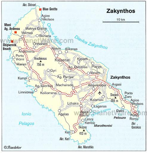 Breath Taking Zakynthos Navagio Beach Postcard