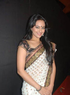 Sonakshi Sinha in Saree Photos