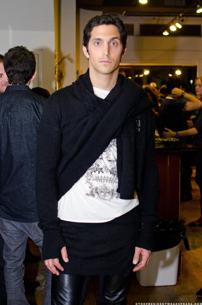 Model Aaron