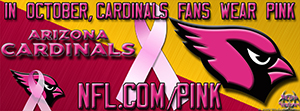Cardinals Breast Cancer Awareness Pink Facebook Cover Photo