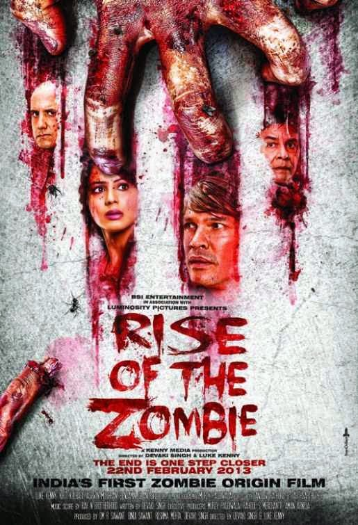 Poster Of Hindi Movie Rise of the Zombie (2013) Free Download Full New Hindi Movie Watch Online At Alldownloads4u.Com